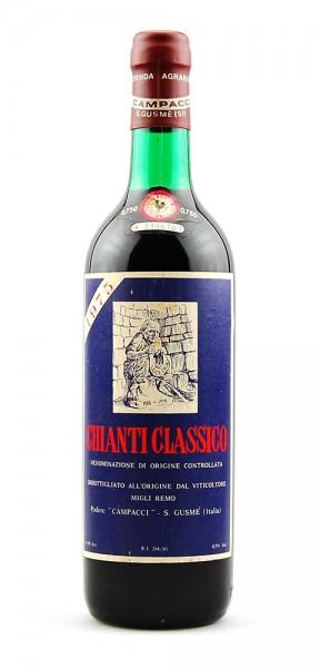 Wein 1975 Chianti Classico Campacci