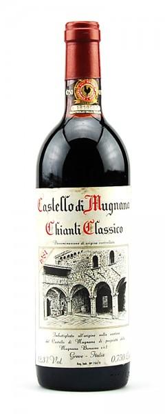 Wein 1981 Chianti Classico Riserva Castello di Mugnana