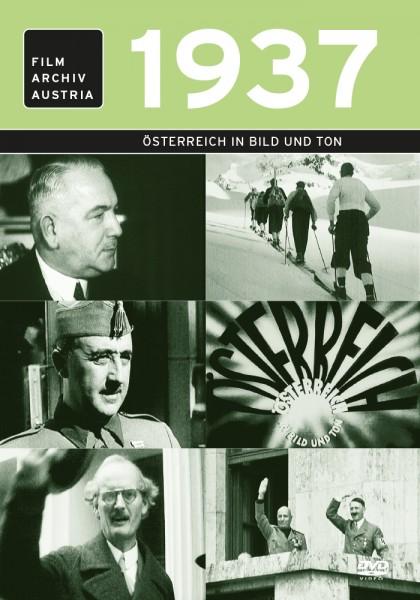 DVD 1937 Chronik Austria Wochenschau in Holzkiste