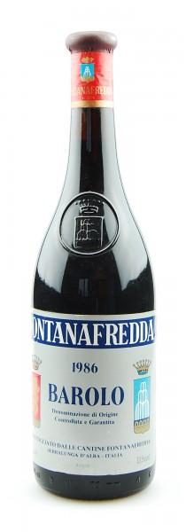 Wein 1986 Barolo Fontanafredda
