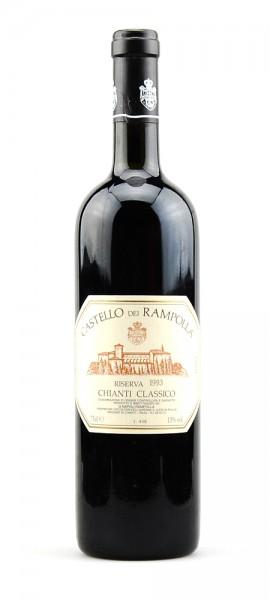 Wein 1993 Chianti Classico Castello Rampolla Riserva