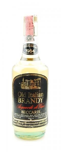 Brandy 1984 Old Italien Brandy Riserva Beccaris