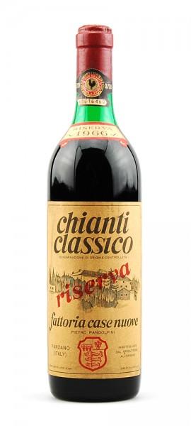 Wein 1966 Chianti Classico Fattoria Casenuove Riserva