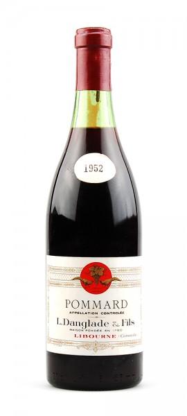 Wein 1952 Pommard Danglade & Fils Libourne