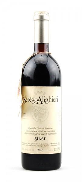 Wein 1986 Valpolicella Classico Superiore Masi