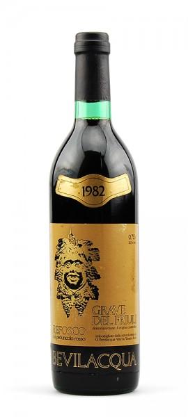 Wein 1982 Refosco Grave del Friuli dal Peduncolo