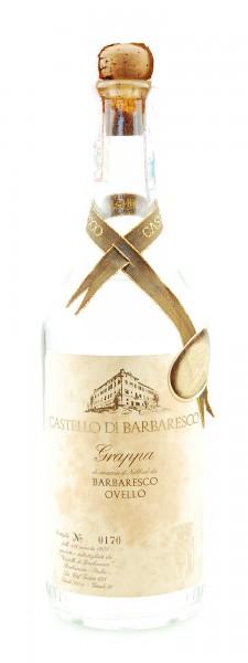 Grappa 1978 Barbaresco Ovello Castello di Barbaresco