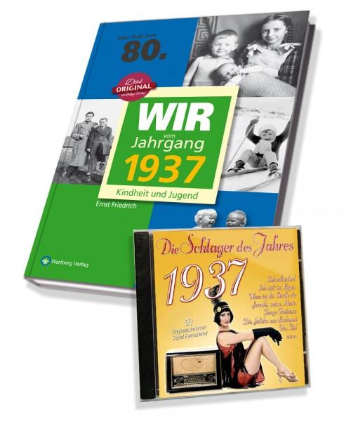 Zeitreise 1937 - Wir vom Jahrgang & Schlager 1937