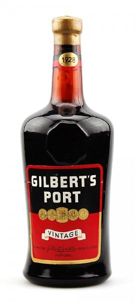 Portwein 1928 Gilberts Vintage