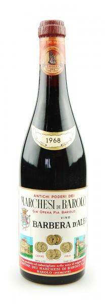 Wein 1968 Barbera d´Alba Marchesi di Barolo