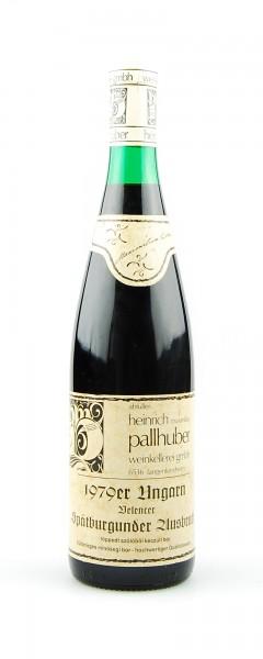 Wein 1979 Belencer Spätburgunder Ausbruch
