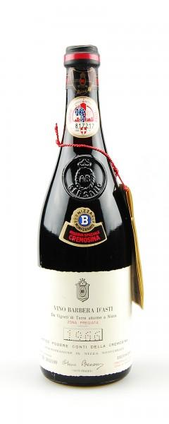 Wein 1966 Barbera d´Asti Riserva Speciale Bersano