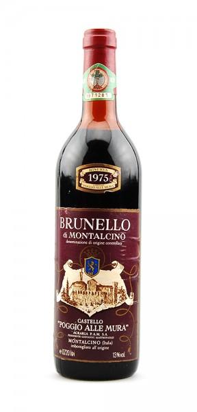 Wein 1975 Brunello di Montalcino Riserva alle Mura