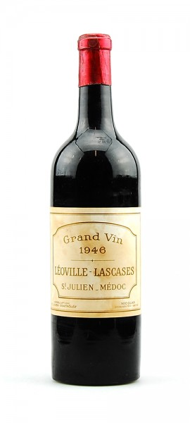 Wein 1946 Chateau Leoville Las Cases 2eme Grand Cru