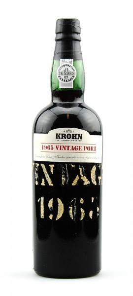 Portwein 1965 Krohn Vintage
