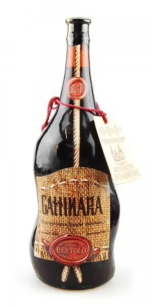 Wein 1967 Gattinara Bertolo 3,78 Liter Doppelmagnum