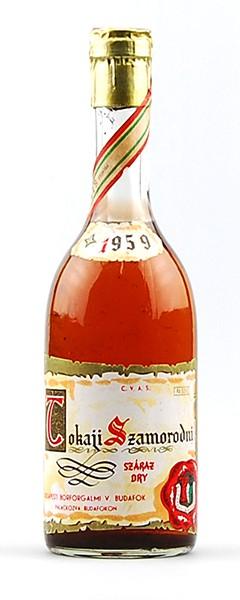 Wein 1959 Tokaji Szamorodni Szaraz Dry