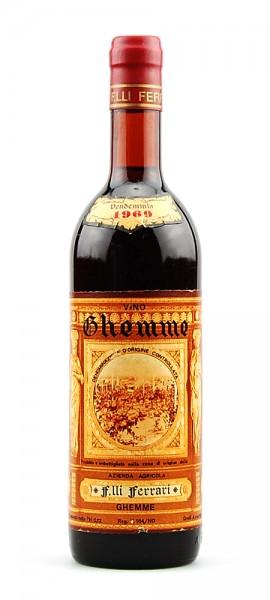 Wein 1969 Ghemme Acienda Agricola Ferrari