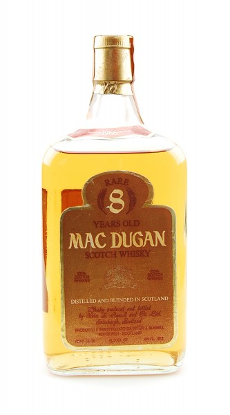 Whisky 1966 Mac Dugan Rare 8 Years Blended Scotch