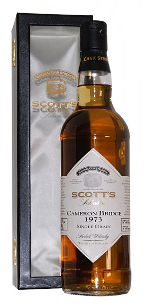 Whisky 1973 Cameron Bridge Single Grain Scotch Whisky