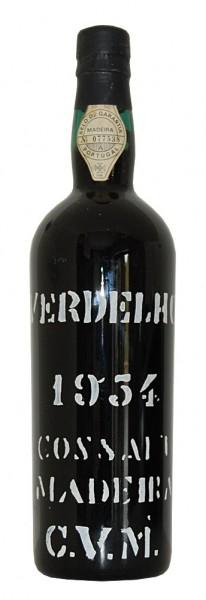 Madeira 1954 Cossart Gordon Verdelho