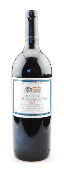 Wein 1989 Chateau La Fourquerie Magnum 1,5 Liter