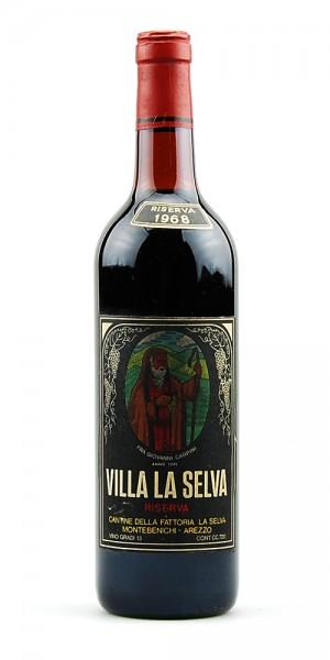 Wein 1968 Chianti Villa La Selva Riserva