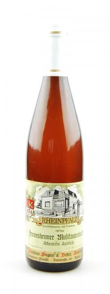 Wein 1977 Freinsheimer Musikantenbuckel Scheurebe