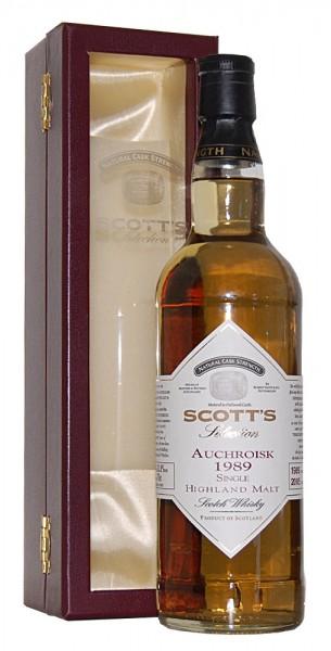 Whisky 1989 Auchroisk Single Highland Malt Scotch