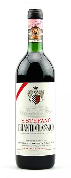 Wein 1986 Chianti Classico S.Stefano Riserva