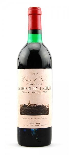 Wein 1950 Chateau La Tour du Haut Moulin Haut-Medoc