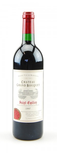 Wein 1997 Chateau Grand Bouquey Saint-Emilion
