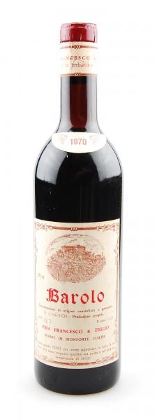 Wein 1970 Barolo Francesco Pira