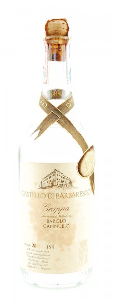 Grappa 1978 Barolo Cannubio Castello di Barbaresco