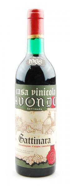 Wein 1968 Gattinara Casa Vinicola Avondo