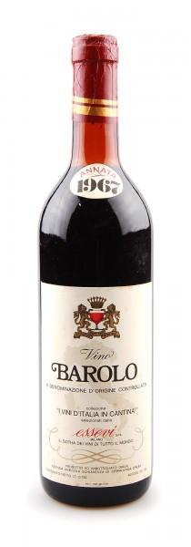 Wein 1967 Barolo Essevi Schiavenza