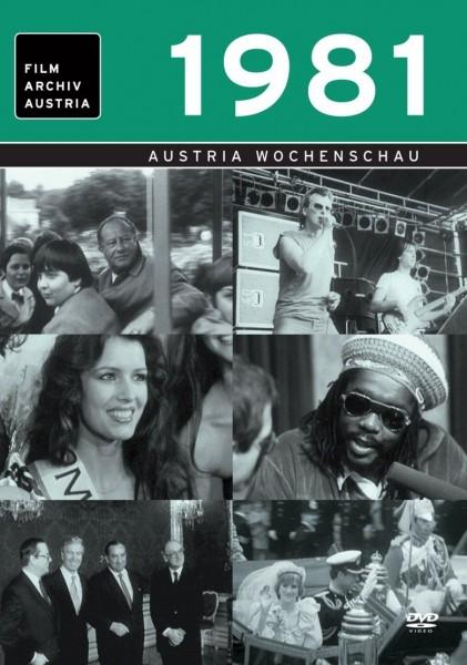 DVD 1981 Chronik Austria Wochenschau in Holzkiste