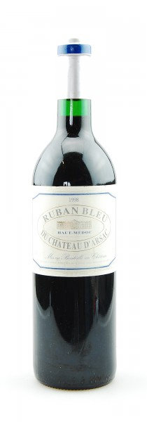 Wein 1998 Ruban Bleu du Chateau d´Arsac