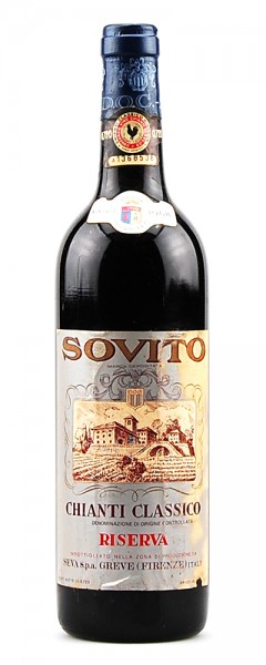 Wein 1968 Chianti Classico Riserva Sovito