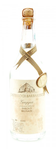 Grappa 1978 Barolo Brunate Castello di Barbaresco