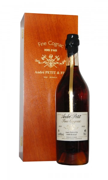Cognac 1933 André Petit