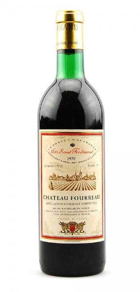 Wein 1970 Chateau Fourreau Saint Ferdinand