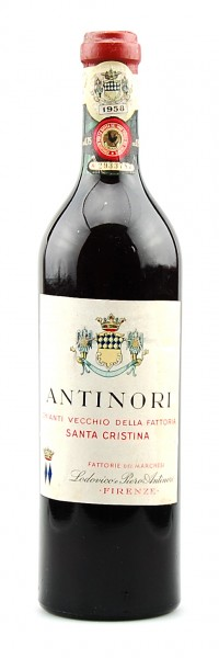 Wein 1958 Chianti Classico Santa Cristina Antinori