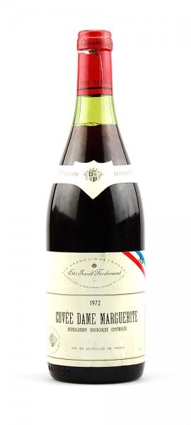 Wein 1972 Cuvee Dame Marguerite Ets. Saint Ferdinand