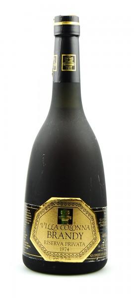 Brandy 1974 Villa Colonna Riserva Privata