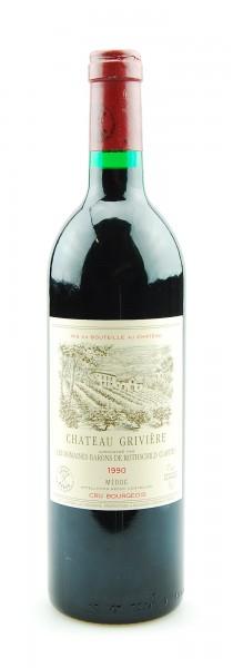 Wein 1990 Chateau Griviere Baron de Rothschild