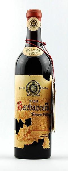 Wein 1957 Barbaresco Valfieri Riserva