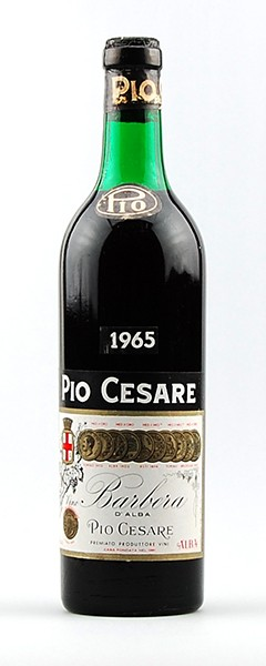 Wein 1965 Barbera d´Alba Pio Cesare