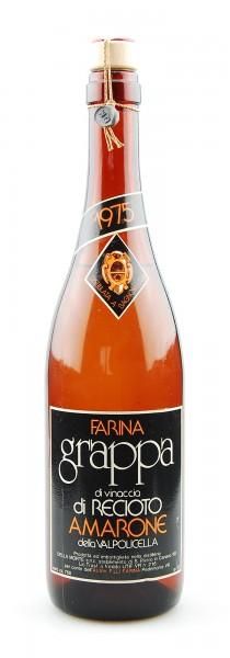 Grappa 1975 di Vinaccia di Recioto Amarone Farina