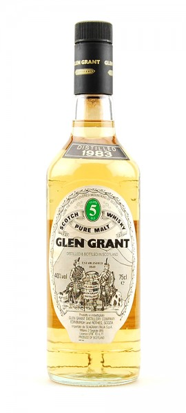 Whisky 1983 Glen Grant Highland Malt 5 years old
